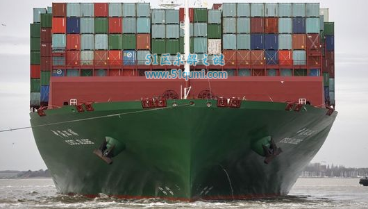 世界最大最重货轮,巨无霸中海环球号!