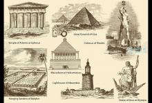世界七大奇迹,埃及胡夫金字塔完全由人工建成